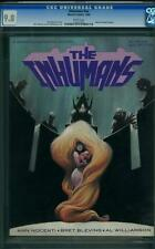INHUMANS #NN CGC 9.8 - WHITE PAGES - MARVEL GRAPHIC NOVEL - 1988