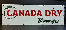 CANADA DRY SODA POP PORCELAIN  1-SIDED ADVERTISING SIGN 30""