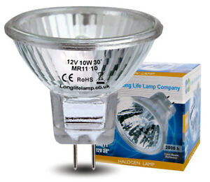 MR11 Halogen Light Bulbs 12V Low Voltage GU4 35mm Christmas Tree Spotlights