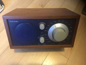 Tivoli Audio Model One AM/FM Table Radio by Henry Kloss Tabletop Aux Input