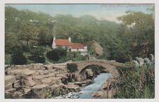 Tyne & Wear postcard - The Old Mill, Jesmond Dene, Newcastle upon Tyne