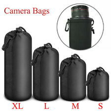 Neoprene New Soft DSLR Camera Lens Pouch Bag Protector Case For Canon Nikon Sony