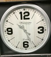 """Westminster Clock Company Oversized 30"""" Wall Clock FAST FREE SHIPPING"""