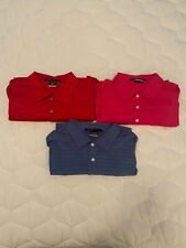 Lot of 3 Nike Tiger Woods Tw Collection Polo Shirts Size Medium Euc