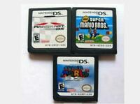 Pokemon Mario Yoshi Final Fantasy Game Cards Nintendo 3DS NDSI NDS Lite b F01