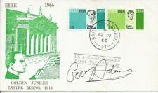 GERRY ADAMS Signed First Day Cover IRISH REPUB. POLITICIAN Pres of Sinn Fein COA
