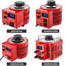 Variac Variable Transforme 05123kva Lcd Digital Display 0 130v Ac Voltage
