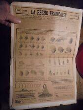 Supplément Petit Journal Page Pub LA PECHE FRANCAISE (Manufrance) Mouches
