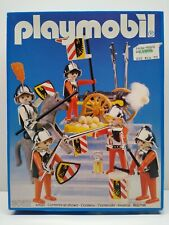 Vintage 1985 Playmobil System 3052 Knights and Cannon set