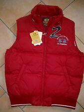 (J48) La Martina Daunen Weste Jacke mit Polo Logo Stickerei auf der Brust gr.164