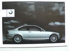 Prospekt BMW 3er E46 Coupe (320Ci,323Ci,328Ci), 2000, 4 Seiten + Landkarte