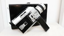 Vintage CANON AUTO ZOOM 814 SUPER 8 film movie camera with case Defects