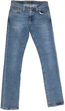 EUC RRP $249 Womens Nudie Jeans 'SLIM KIM INDIGO STRETCH' Jeans W28 L34