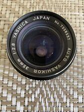 Yashica Auto Yashikor 35mm 1:2.8 Lens