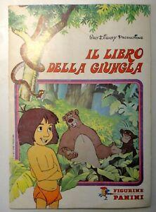 """Album Figurine """" IL LIBRO DELLA GIUNGLA """" WALT DISNEY - PANINI MODENA"""