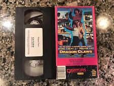 Dragon Claws Vhs! 1979 Action! Street Fighters Part II The Devils Assignment