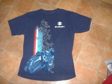 SUZUKI MENS T-SHIRT,SIZE L,G/C,DESIGNER MENS SHIRT/TOP,FREE POST