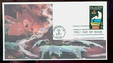 #2074 1984 S & W Cons. WII Laser Cachet Disney's Bambi FD1831