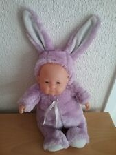 BABY IN RABBIT OUTFIT - SOFT TOY