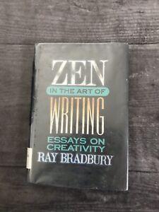 Zen in the Art of Writing : Essays on Creativity by Ray Bradbury Hardcover Book