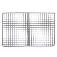 Titanium Charcoal Bbq Grill Barbecue Grill Durable Net Plate Camping TablewaQ2I6