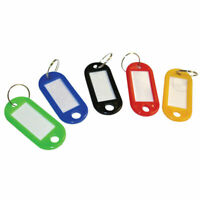 Cathedral Products KTS50 Standard Key Tags Assorted Colours (50 x 22 x 3) Pk 50