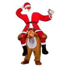 Carry Me Piggy Back Ride On Novelty Reindeer Mascot Fancy Dress Costume Xmas New