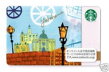 Starbucks Japan 2012 Yokohama City Gift Card Limited Edition w/sleeve from Japan