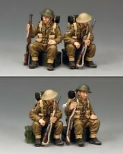 KING & COUNTRY FIELDS OF BATTLE FOB124 BRITISH TRUCK PASSENGERS MIB
