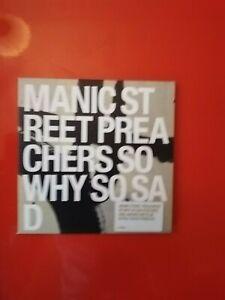 Manic Street Preachers So Why So Sad CD