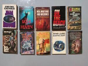 Science fiction paperback lot