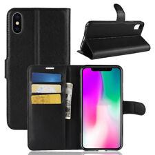 Handy Tasche iPhone XR Klapptasche Flip Cover Schutz Wallet Case Buch Hülle Etui