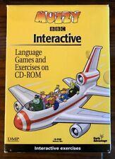 Muzzy French Interactive Level I 6 CD-ROM set