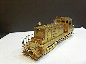 HO Brass Train Engine by Alco D-182 EDM SW-1 Winston