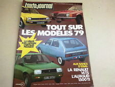 L AUTO JOURNAL - N° 16  - ANNEE  1978  *