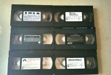 Lot of 6 VHS Movies: Pinocchio, Charlotte's Web, Jurassic Park 3, And More