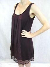 A Common Thread Size S Maroon Lace Mini Dress