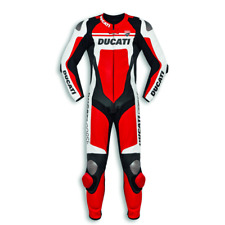 Ducati Corse C4 Leather Suit 1 One Piece Racing Track Road Motorcycle 9810451