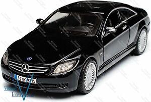 1:32 Scale Model Compatible for Mercedes Benz CL 550 Black @UK