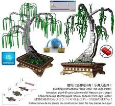 Lego Bonsai Custom Weeping Willow Instructions Pot Tree Plant Garden