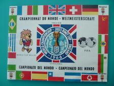 Programme prévisionnel Championnat du monde football FIFA - ANGLETERRE 1966