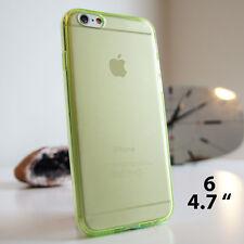 Claro suave TPU silicona Gel Estuche Cubierta para iPhone 4 4S 5 5S 5C 6 6P Plus