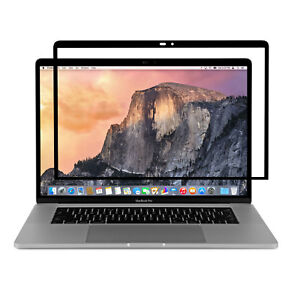 """Moshi iVisor Pro 15 Screen Protector for Macbook Pro 15"""" with Touch Bar Black"""