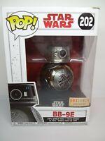 Funko Pop Star Wars Chrome BB-9E BoxLunch Exclusive Futura Last Jedi