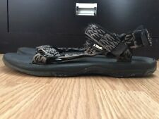 Teva Men's Hurricane Sandals Size 12 Black Gray Sport Strap Shoes 6613 BEATERS