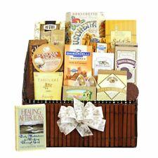 California Delicious Gift Basket, Caring Condolences Sympathy