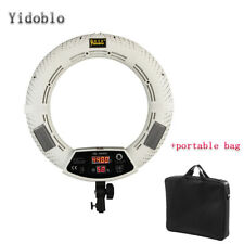 18'' Photo Video Photography LED Dimmable Ring Light Beauty Lamp &Bag For Makeup