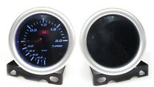 Smoked 52mm Turbo Boost gauge 2 Bar Audi A3 A4 A5 A6 TT TTS (SM/STH)