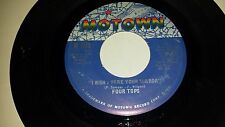 FOUR TOPS I Wish I Were Your Mirror / Just Seven Numbers MOTOWN 1175 SOUL 45