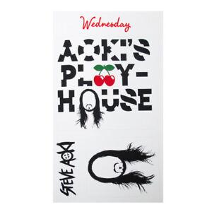 Pacha Ibiza Club Sticker Set Steve Aoki's Play House 2014 White Music